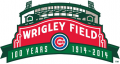 Chicago Cubs 2014 Anniversary Logo iron on sticker