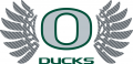 Oregon Ducks 2011-Pres Alternate Logo iron on sticker
