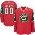 Minnesota Wild Custom Letter and Number Kits for Red Jersey