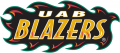 UAB Blazers 1996-2014 Wordmark Logo iron on sticker