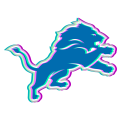 Phantom Detroit Lions logo iron on sticker