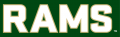Colorado State Rams 2015-Pres Wordmark Logo 12 iron on sticker