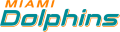 Miami Dolphins 2013-Pres Wordmark Logo 04 decal sticker