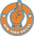Number One Hand New York Knicks logo iron on sticker