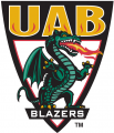 UAB Blazers 1996-2014 Alternate Logo 01 iron on sticker