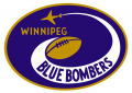 Winnipeg Blue Bombers 1966-1967 Primary Logo decal sticker