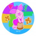 Disney Piglet Logo 08 decal sticker