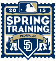 San Diego Padres 2015 Event Logo decal sticker