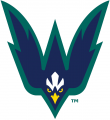 NC-Wilmington Seahawks 2015-Pres Secondary Logo 02 decal sticker