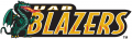 UAB Blazers 1996-2014 Wordmark Logo 02 iron on sticker