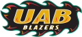 UAB Blazers 1996-2014 Wordmark Logo 01 iron on sticker