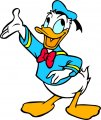 Donald Duck Logo 52 decal sticker