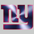 New York Giants Stainless steel logo iron on sticker