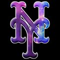 Galaxy New York Mets Logo decal sticker