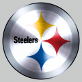 Pittsburgh Steelers Stainless steel logo iron on sticker