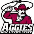 New Mexico State Aggies 2006 Primary Logo iron on sticker