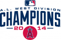 Los Angeles Angels 2014 Champion Logo decal sticker