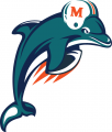 Miami Dolphins 1997-2012 Alternate Logo decal sticker