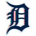 Phantom Detroit Tigers logo decal sticker