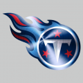 Tennessee Titans Stainless steel logo iron on sticker