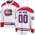 Montreal Canadiens Custom Letter and Number Kits for White Jersey