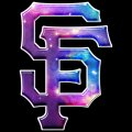 Galaxy San Francisco Giants Logo decal sticker