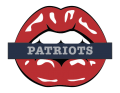 New England Patriots Lips Logo decal sticker