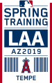 Los Angeles Angels 2019 Event Logo decal sticker