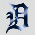 Detroit Tigers Stainless steel logo iron on sticker
