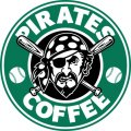 Pittsburgh Pirates Starbucks Coffee Logo iron on sticker