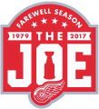 Detroit Red Wings 2016 17 Anniversary Logo decal sticker