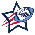 Tennessee Titans Football Goal Star logo iron on sticker