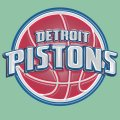 Detroit Pistons Plastic Effect Logo decal sticker