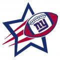 New York Giants Football Goal Star logo iron on sticker