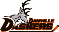 Danville Dashers 2014 15-Pres Primary Logo decal sticker