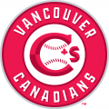 Vancouver Canadians 2014-Pres Primary Logo decal sticker
