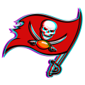 Phantom Tampa Bay Buccaneers logo iron on sticker