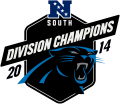 Carolina Panthers 2014 Champion Logo decal sticker