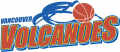Vancouver Volcanoes 2005-2009 Primary Logo iron on sticker