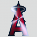 Los Angeles Angels of Anaheim Stainless steel logo iron on sticker