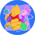 Disney Piglet Logo 21 decal sticker