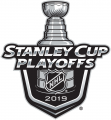 Stanley Cup Playoffs 2018-2019 Logo decal sticker