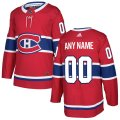 Montreal Canadiens Custom Letter and Number Kits for Red Authentic Jersey