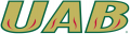 UAB Blazers 2015-Pres Wordmark Logo iron on sticker