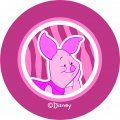 Disney Piglet Logo 06 decal sticker