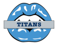 Tennessee Titans Lips Logo decal sticker