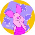 Disney Piglet Logo 15 decal sticker