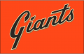 San Francisco Giants 2014-Pres Jersey Logo decal sticker