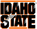 Idaho State Bengals 1997-2018 Wordmark Logo 07 decal sticker