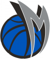 Dallas Mavericks 2001 02-2013 14 Alternate Logo iron on sticker